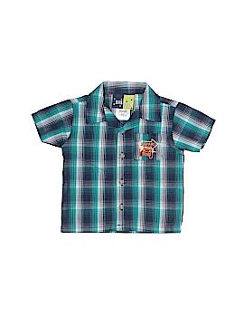 Mick Mack Ltd Short Sleeve Button-Down Shirt Size 6-9 mo