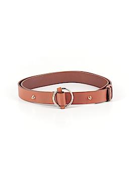 Lands' End Leather Belt Size M