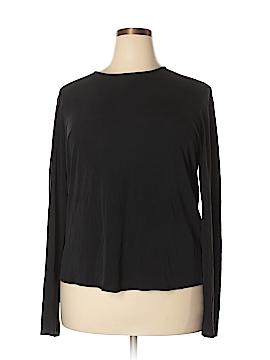 Eileen Fisher Long Sleeve Silk Top Size 2X (Plus)