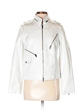 Alice + olivia Leather Jacket Size M