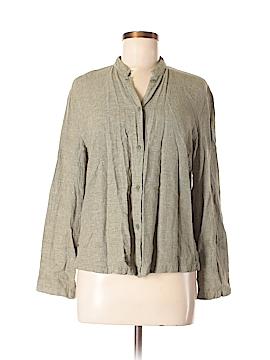 Linden Hill Long Sleeve Button-Down Shirt Size M