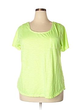 Lane Bryant Short Sleeve T-Shirt Size 18 (Plus)