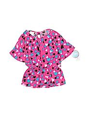 WonderKids Girls Short Sleeve Blouse Size 2T