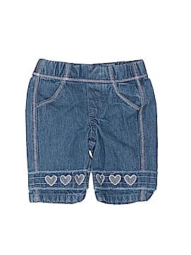 Koala Kids Denim Shorts Size 0-3 mo