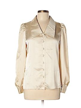St. John Long Sleeve Blouse Size 10
