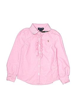 Ralph Lauren Long Sleeve Button-Down Shirt Size 5