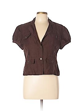 Sherry Taylor Short Sleeve Button-Down Shirt Size XL