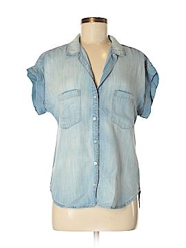 Bella Dahl Short Sleeve Button-Down Shirt Size M