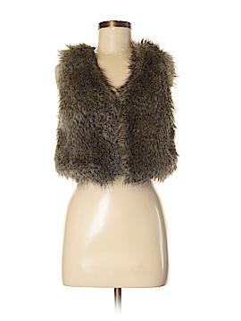 Kardashian Kollection Faux Fur Vest Size M