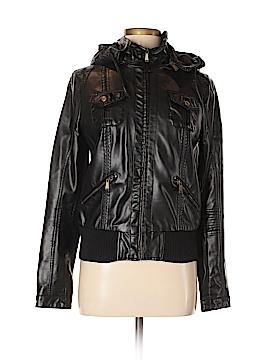 BDG Faux Leather Jacket Size M
