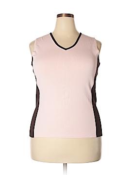 INC International Concepts Sweater Vest Size 1X (Plus)