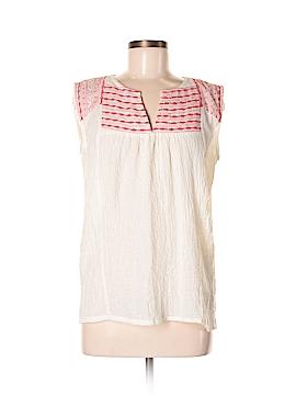 Dina Be Short Sleeve Blouse Size M