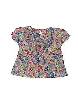 Bleu Comme Gris Short Sleeve Blouse Size 18 mo