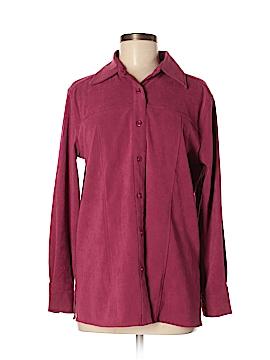 Denim Co Long Sleeve Button-Down Shirt Size XS