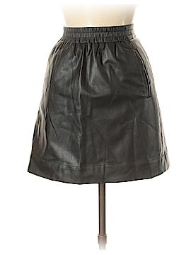 Ann Taylor LOFT Faux Leather Skirt Size M