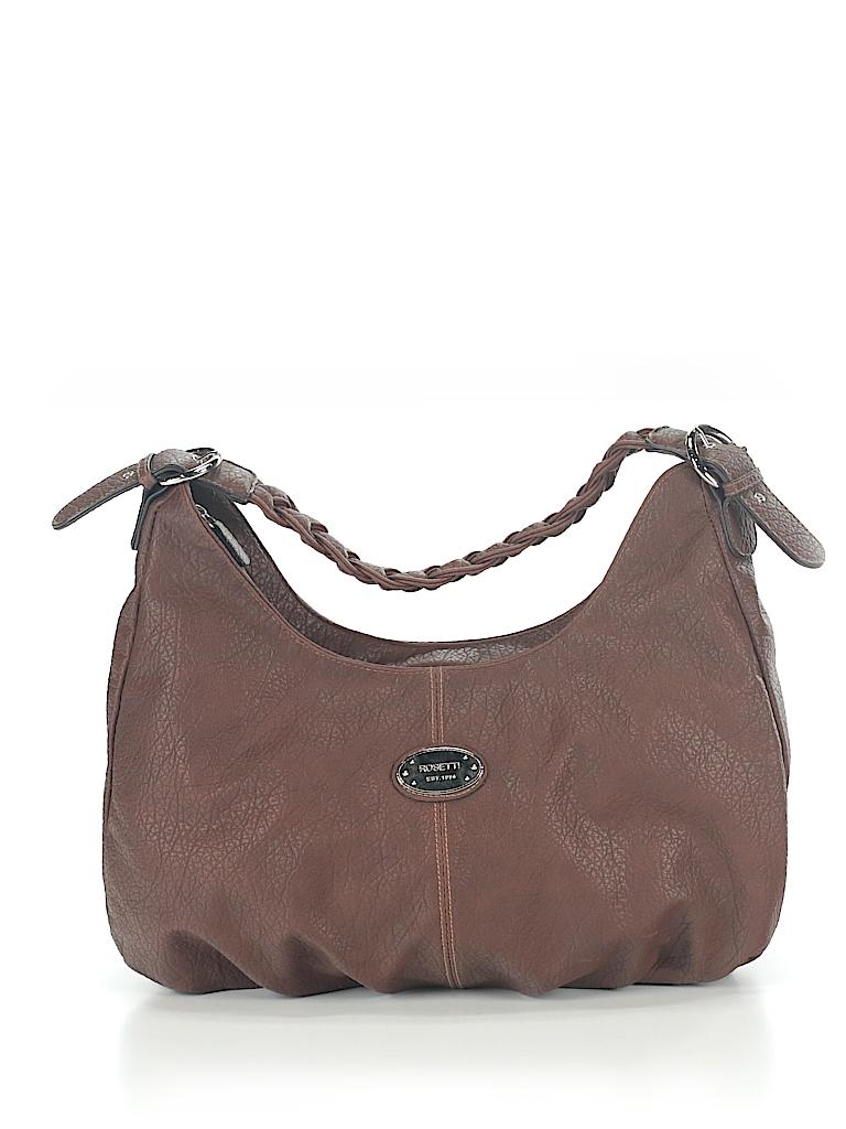 54ead6975404 Rosetti Handbags Solid Brown Shoulder Bag One Size - 53% off