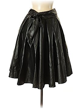 Gracia Faux Leather Skirt Size M