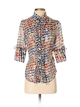 Farinaz Taghavi 3/4 Sleeve Blouse Size 4