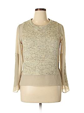 Aryn K. Pullover Sweater Size L