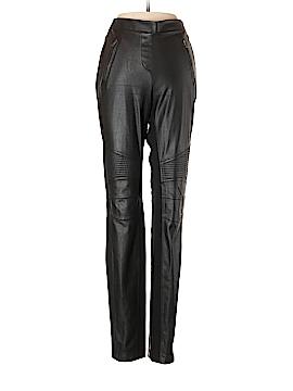 BCBGMAXAZRIA Faux Leather Pants Size S