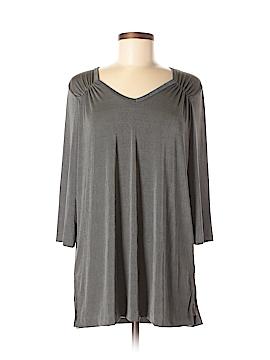Carolyn Strauss 3/4 Sleeve Top Size M