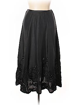 Chico's Silk Skirt Size Lg (2)