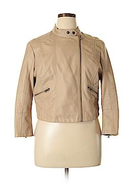 LC Lauren Conrad Faux Leather Jacket Size XL