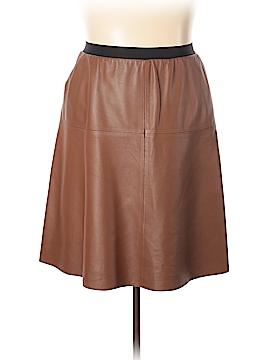 Gerard Darel Leather Skirt Size 14 (46)
