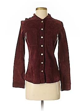 Trafaluc by Zara Leather Jacket Size S