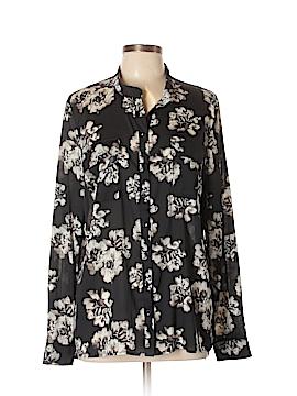 Kensie Long Sleeve Blouse Size XL