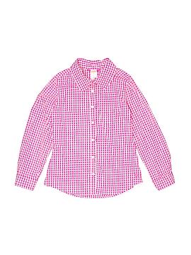 Gymboree Long Sleeve Button-Down Shirt Size 10