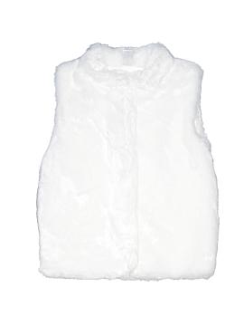 Carter's Faux Fur Vest Size 7