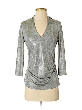 7th Avenue Design Studio New York & Company 3/4 Sleeve Top Size XS