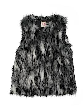 GB Girls Faux Fur Vest Size X-Large (Kids)