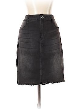 Celebrity Pink Denim Skirt Size 11