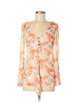 Hang Ten Long Sleeve Blouse Size XS