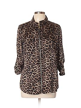 Michael Lauren Long Sleeve Blouse Size L