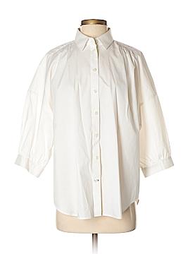 Kate Spade New York 3/4 Sleeve Button-Down Shirt Size M