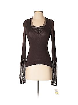 PF Paola Frani Long Sleeve Top Size 44 (IT)