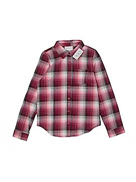 The Children's Place Long Sleeve Button-Down Shirt Size Medium kids 7/8