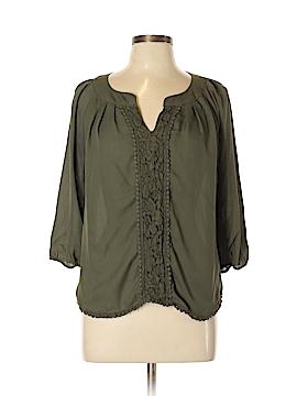 My Michelle 3/4 Sleeve Blouse Size L
