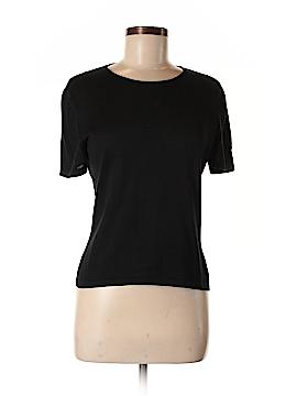Giorgio Armani Short Sleeve Silk Top Size 6
