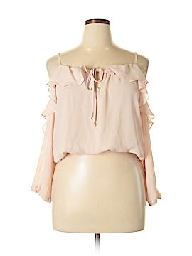Liberty Love Long Sleeve Blouse Size XL