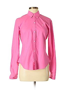 Ralph Lauren Long Sleeve Button-Down Shirt Size 8 (Petite)