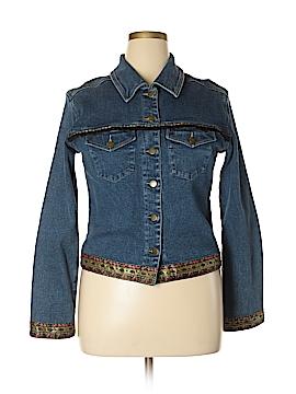 Carole Little Denim Jacket Size 14