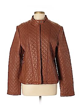 Lauren by Ralph Lauren Leather Jacket Size XL