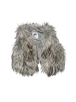 Old Navy Faux Fur Vest Size 12-18 mo