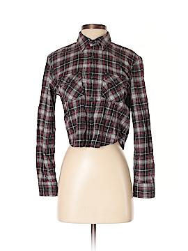TNA Long Sleeve Button-Down Shirt Size XS