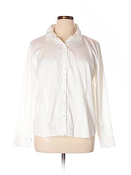 Van Heusen Long Sleeve Button-Down Shirt Size 2X (Plus)