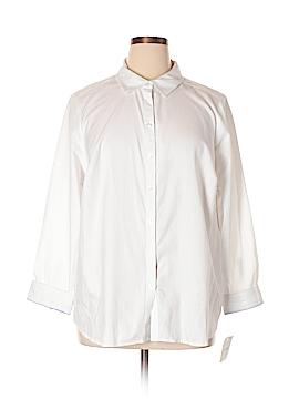 Croft & Barrow Long Sleeve Button-Down Shirt Size 2X (Plus)